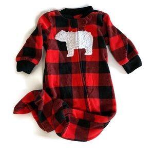 🌱2 for $15🌱 Carter's fleece sleeper *Size 3 mos